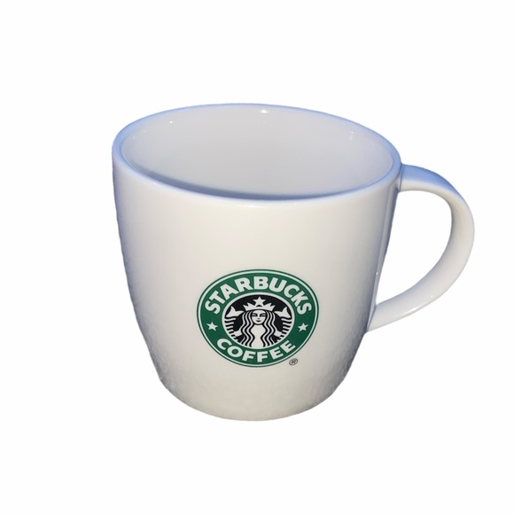 White Starbucks Mug